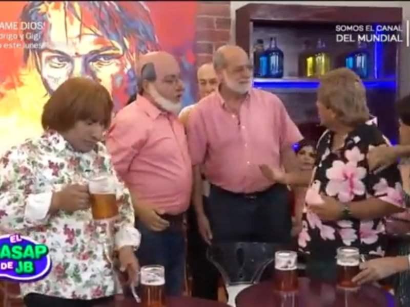 Daniel Abugattás y Daniel Lisurattas
