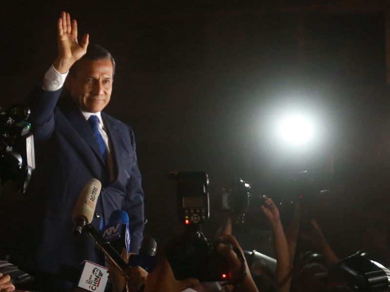 Ollanta Humala recupera su libertad