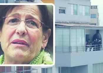 Susana Villarán e inmueble allanado