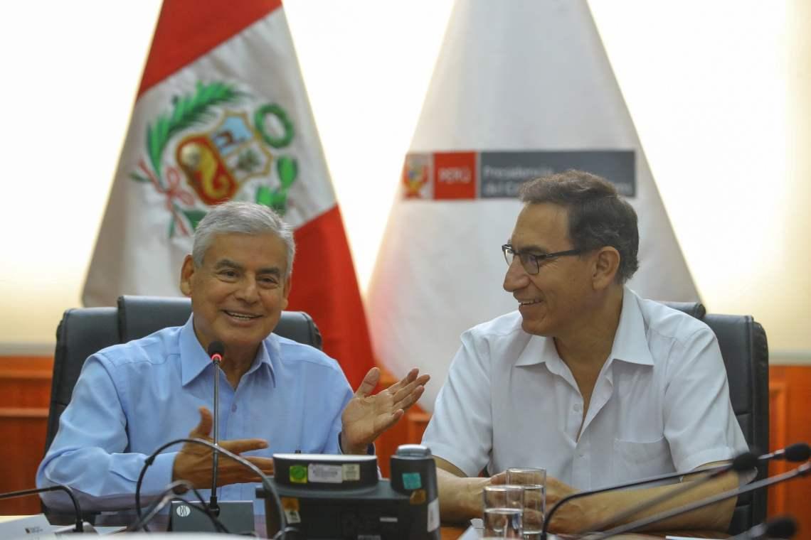 El presidente Vizcarra ve a la educación, la salud y la seguridad ciudadana como pilares fundamentales para mejorar la calidad de vida de los peruanos.