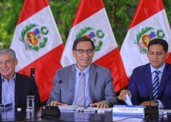El presidente Vizcarra exhortó a los gobernadores regionales a priorizar los proyectos de mayor necesidad.