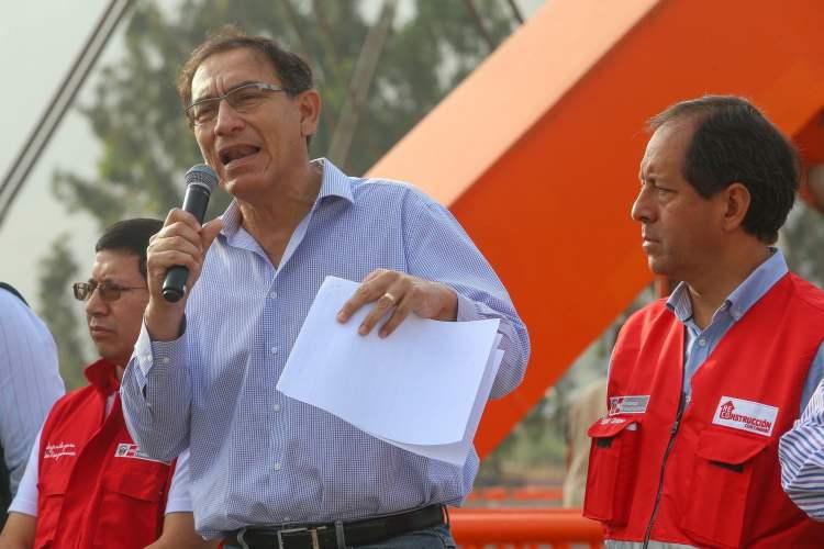 El presidente Vizcarra recalcó que la corrupción no permite el desarrollo del Perú.