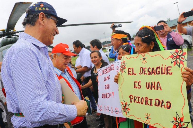 El presidente Vizcarra aseguró que el ahorro de dinero en obras permitirá poder hacer otras más.