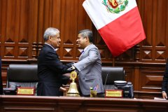 Pleno del Congreso otorgó cuestión de confianza al gabinete de César Villanueva