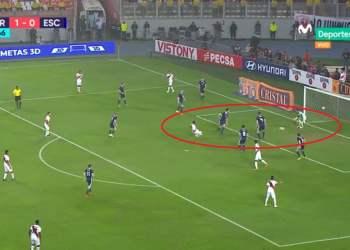 Gol de Jefferson Farfán en el Perú vs Escocia