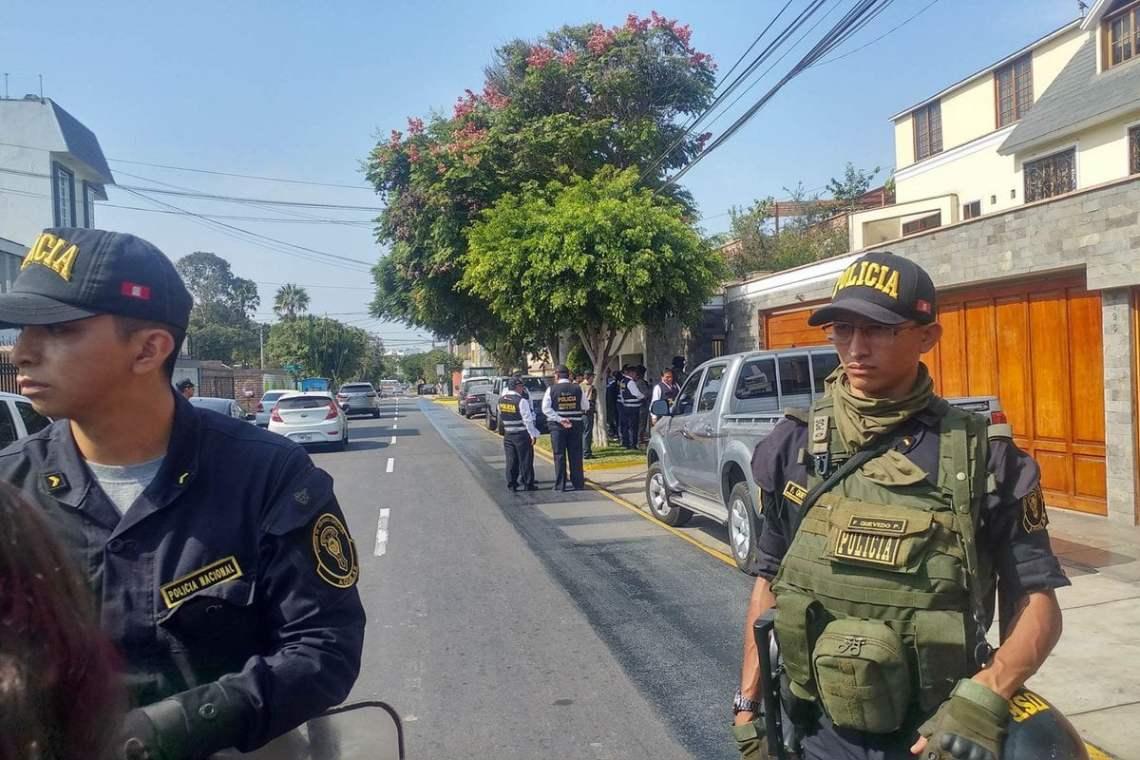 Incautan propiedades relacionadas al expresidente Ollanta Humala y Nadine Heredia.