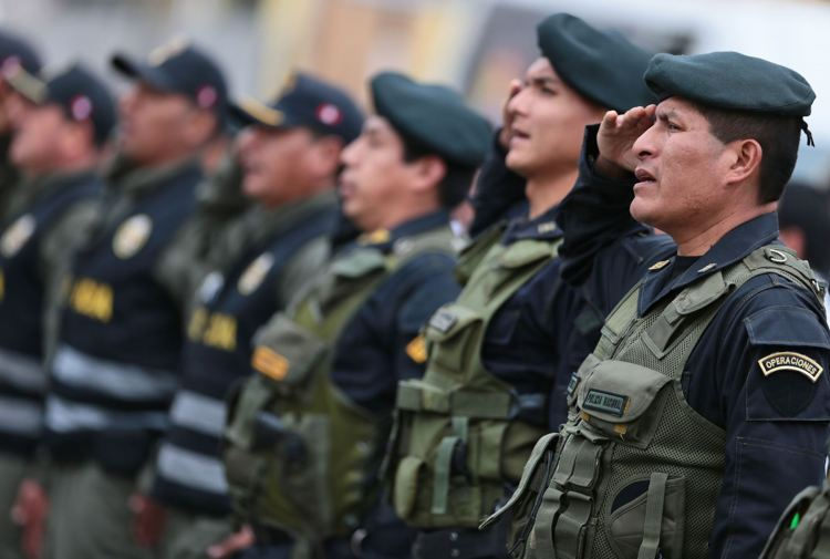 PNP y Fuerzas Armadas