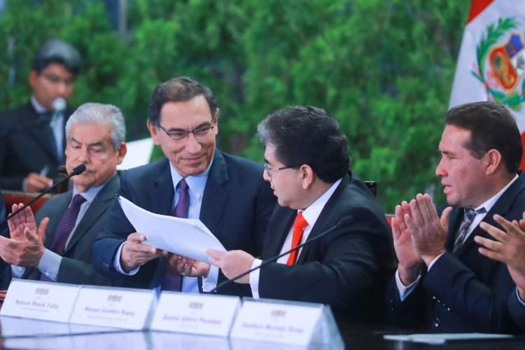 El presidente Vizcarra aseguró que los recursos se gastarán honestamente como lo demanda la población.