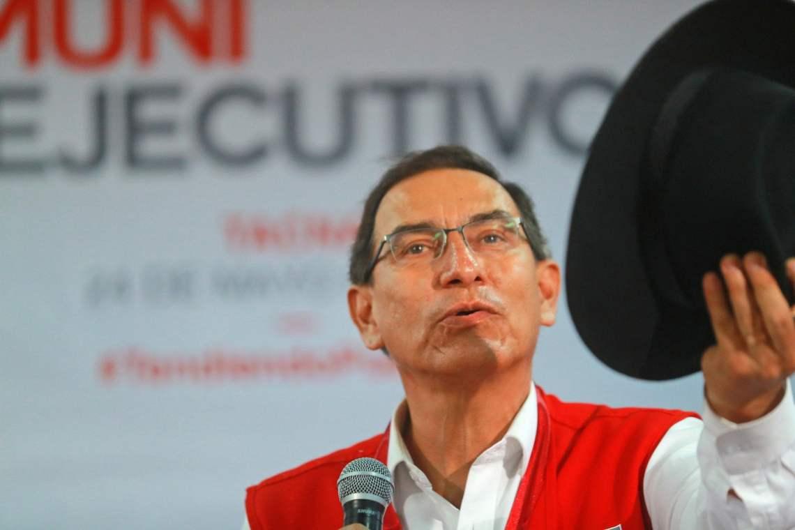 El presidente Vizcarra destacó la diversidad cultural del Perú.