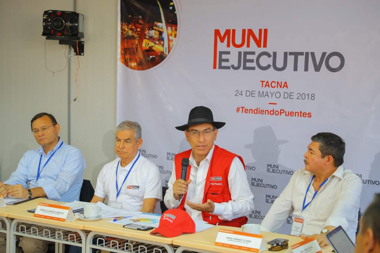 """Martín Vizcarra: """"Inyección económica a las regiones y municipios dará resultados en un mes"""""""