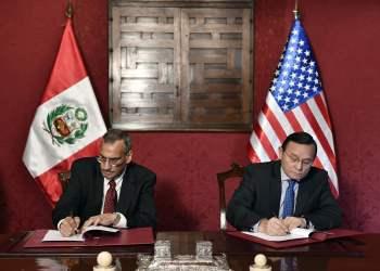 Gobiernos de Perú y Estados Unidos refuerzan la cooperación bilateral, trabajando en beneficio de la seguridad y bienestar de sus respectivos pueblos.