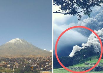 Dos volcanes similares