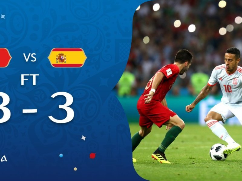 España vs Portugal resultado