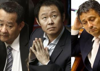 Bienvenido Ramírez, Kenji Fujimori y Guillermo Bocángel fueron suspendidos de sus funciones parlamentarias mientras duren sus procesos penales