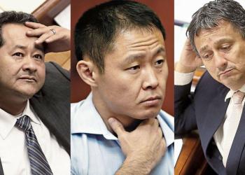 El Pleno del Congreso determinará la suerte de Bienvenido Ramírez, Kenji Fujimori y Guillermo Bocángel.