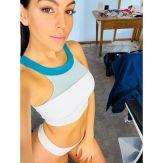 Georgina Rodríguez en bikini