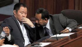 Kenji Fujimori y Bienvenido Ramírez