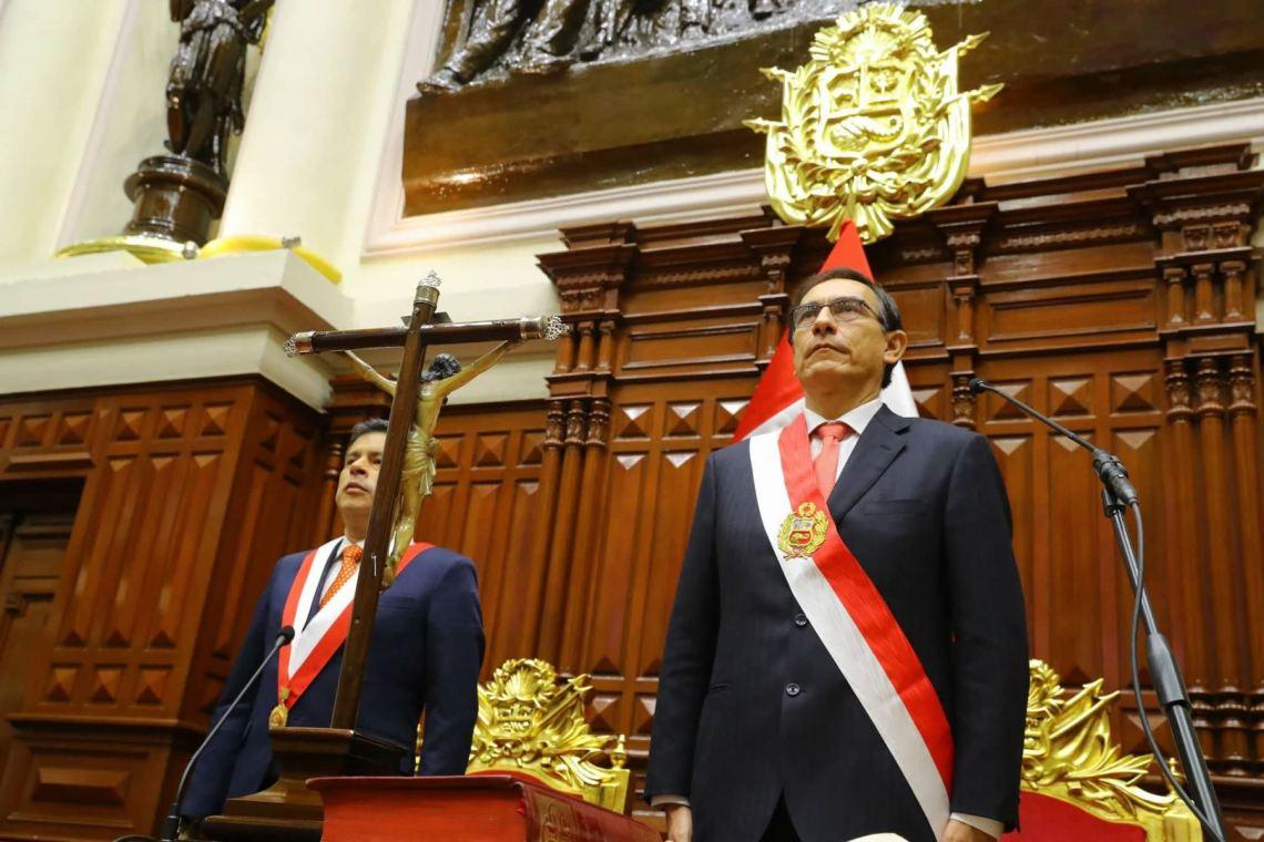 Martín Vizcarra y Luis Galarreta