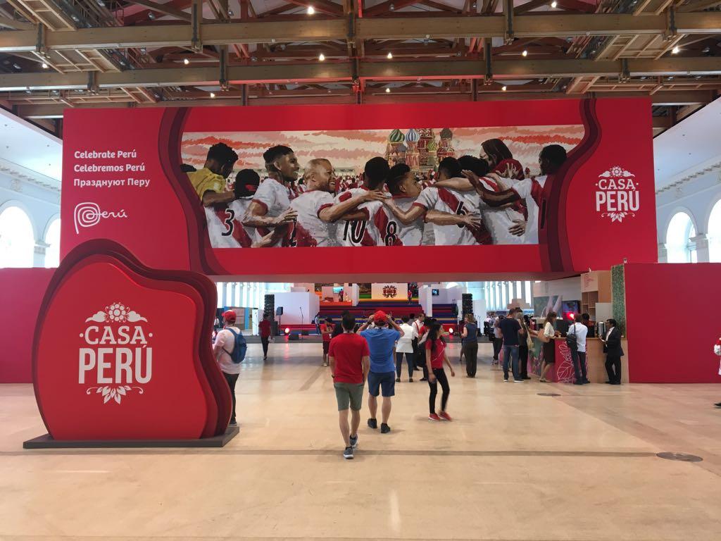 La Casa Perú en Rusia ha permitida mostrar lo mejor de nuestra oferta exportable.