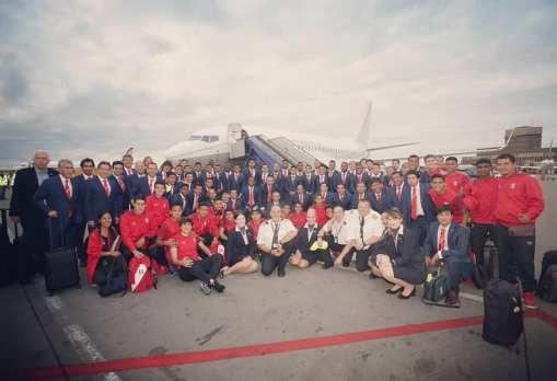 Perú llegó a Rusia