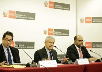 El premier Villanueva aseguró que no hay que recomponer nada en la relación entre el Ejecutivo y la bancada oficialista de PPK.