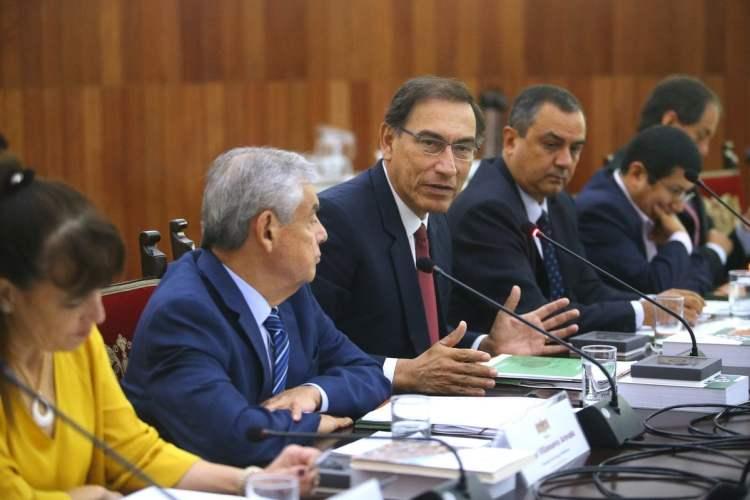 El presidente Vizcarra aseguró que su gobierno trabaja en las prioridades del Perú.