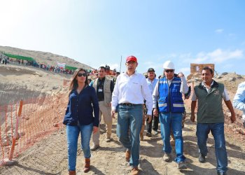 El presidente Vizcarra viajó a Arequipa con la finalidad de inspeccionar obras.