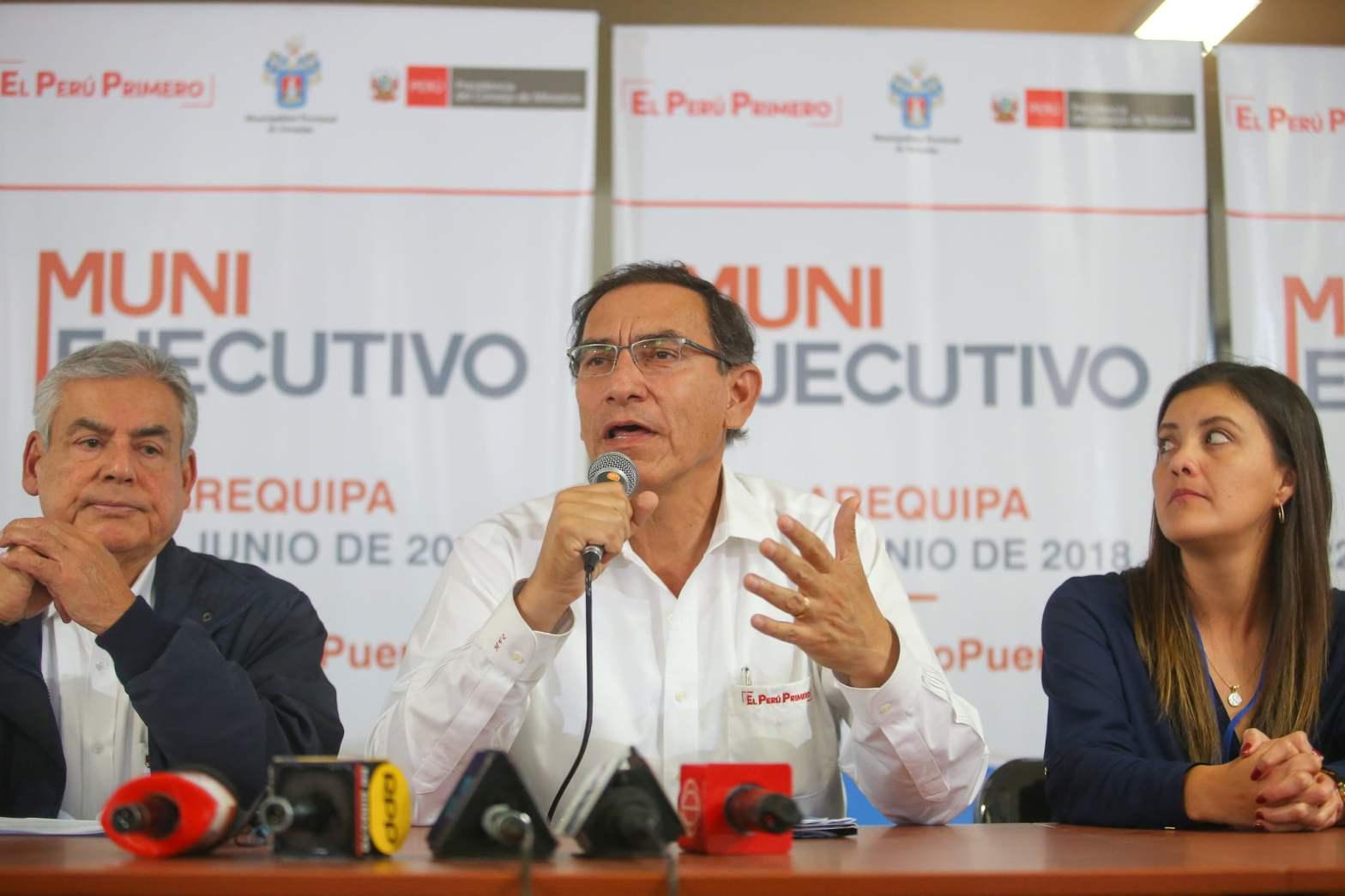"Martin Vizcarra sobre Ley Mordaza: ""Norma no regula, sino prohíbe"""