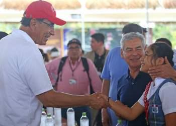 El presidente Vizcarra cumplió actividades en la Región San Martín.