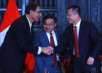 El presidente Vizcarra destacó la inversión china en la minera Toromocho.