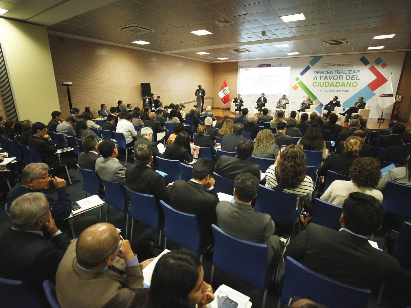 Autoridades gubernamentales y el Legislativo acuerdan fortalecer y profundizar la descentralización