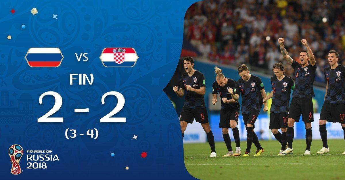 Croacia clasifica a semifinales del mundial