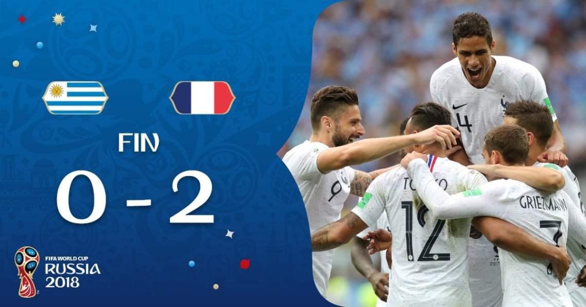 Resultado de imagen para RUSIA 2018 uruguay eliminado}