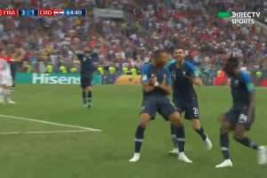 Francia campeón mundial: aquí los goles del 4-2 ante Croacia [VIDEOS]