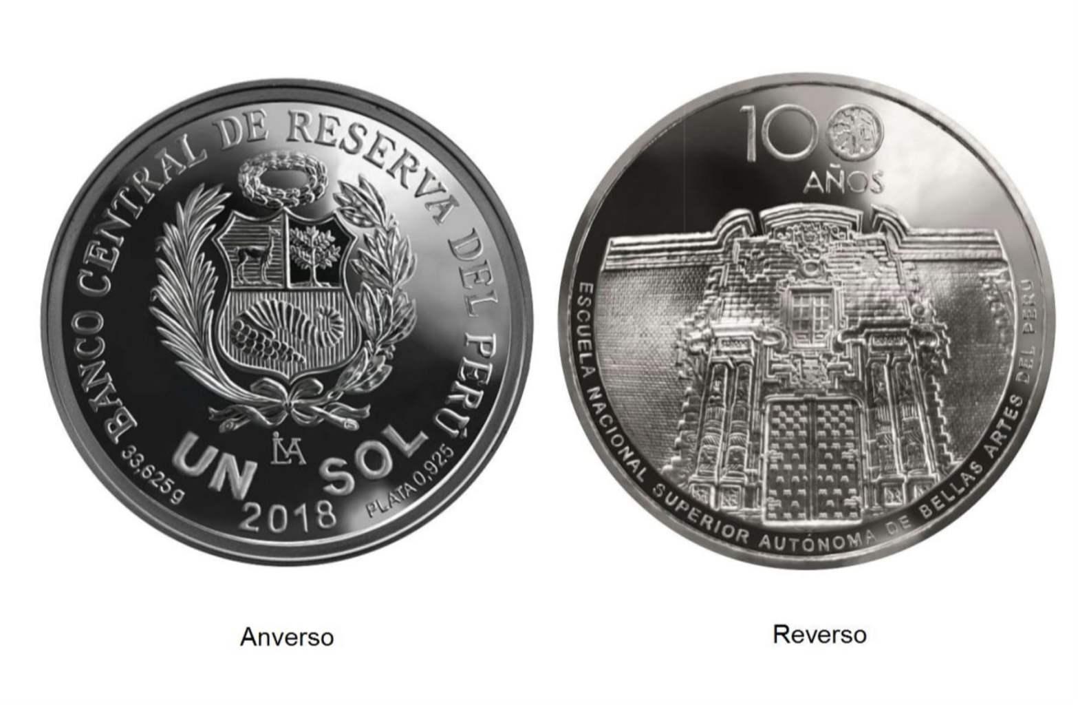 Nueva moneda conmemorativa de Bellas Artes