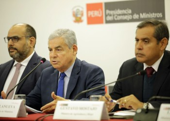 El premier Villanueva recordó que la ronda de diálogo con los líderes políticos es un tema pendiente.