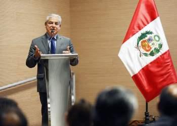 """El premier Villanueva clausuró el taller internacional """"Descentralizar a favor del ciudadano"""", que organizó - la Presidencia del Consejo de Ministros (PCM)."""