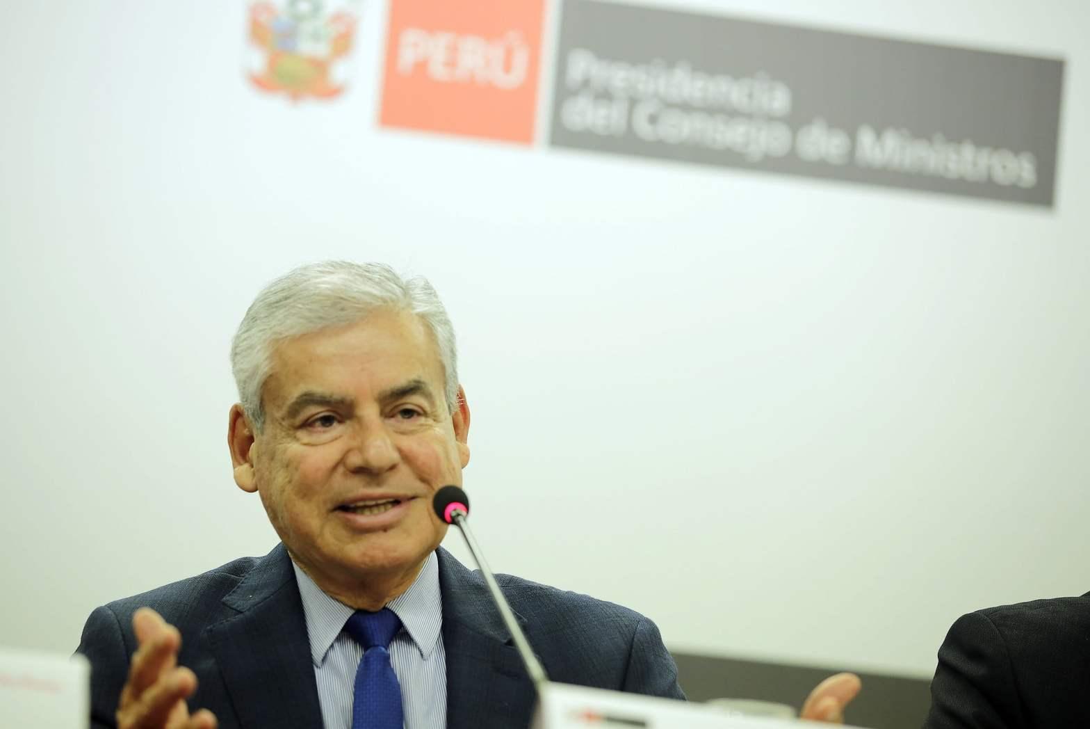"""Cesar Villanueva: """"Presentaremos una ley de publicidad estatal transparente y horizontal"""""""