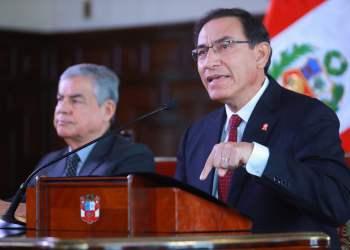 El presidente Vizcarra sostuvo que es importante reconstruir la confianza de las instituciones.