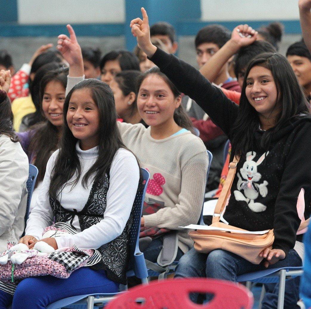 Jóvenes peruanos