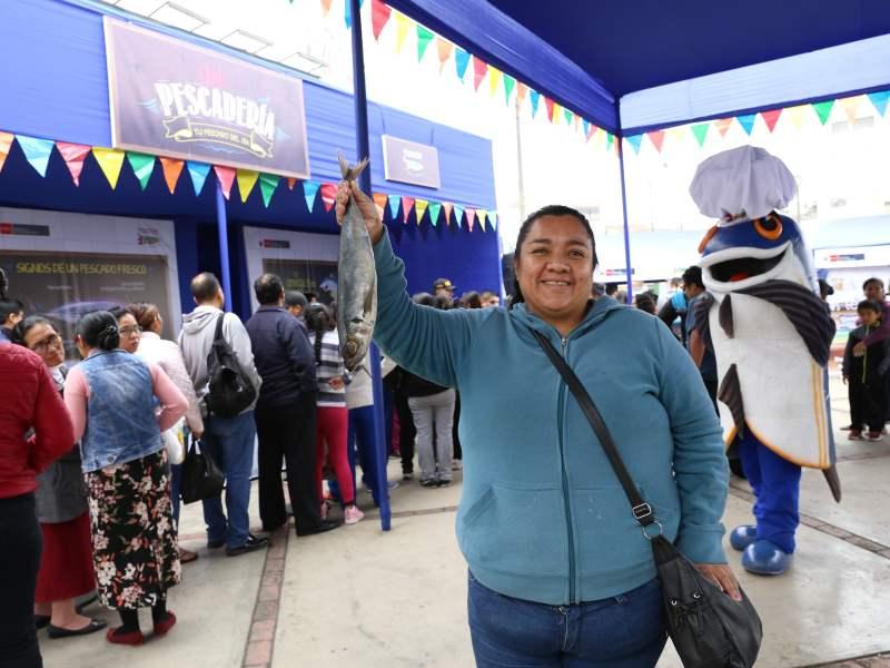 "Ministro Pérez-Reyes: Más de 146 toneladas de pescado se comercializaron a través de ""Mi Pescadería"""