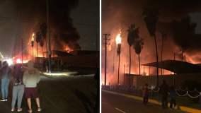 Incendio afectó fábrica en Chorrillos