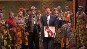 Janet Jackson y Daddy Yankee en The Tonight Show Starring Jimmy Fallon