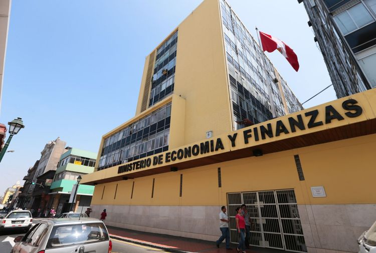 Presupuesto público del Ministerio de Economía y Finanzas