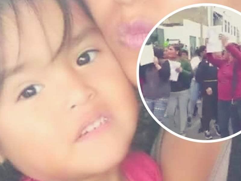 Se busca a Xoana, la niña de 2 años desaparecida en Cerro Azul