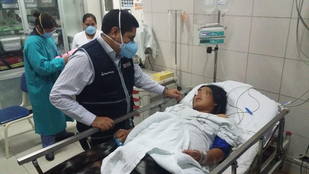 Trasladaron a Lima a pacientes intoxicados en Ayacucho