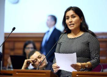Congresista fujimorista Marita Herrera