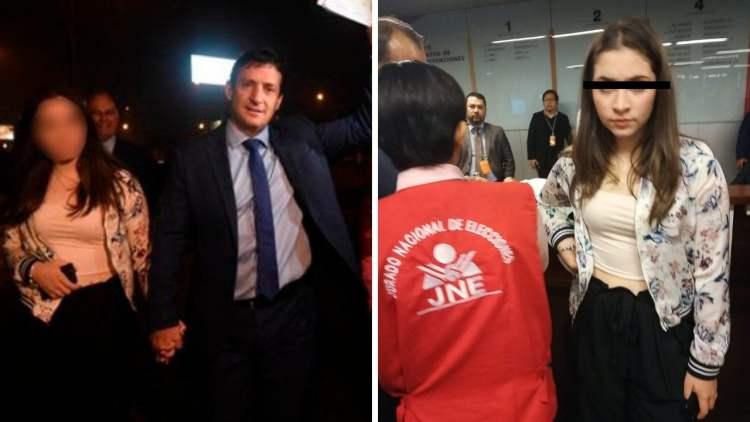 Renzo Reggiardo fue al debate con su hija víctima de delincuentes