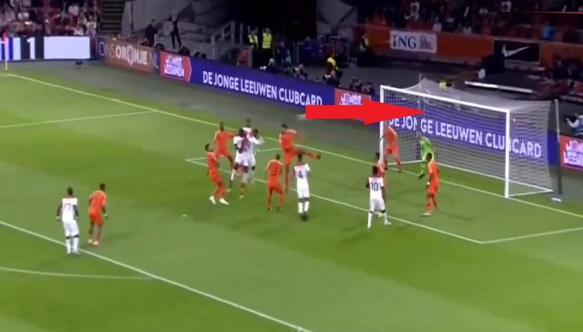 Gol de Pedro Aquino, Perú vs Holanda