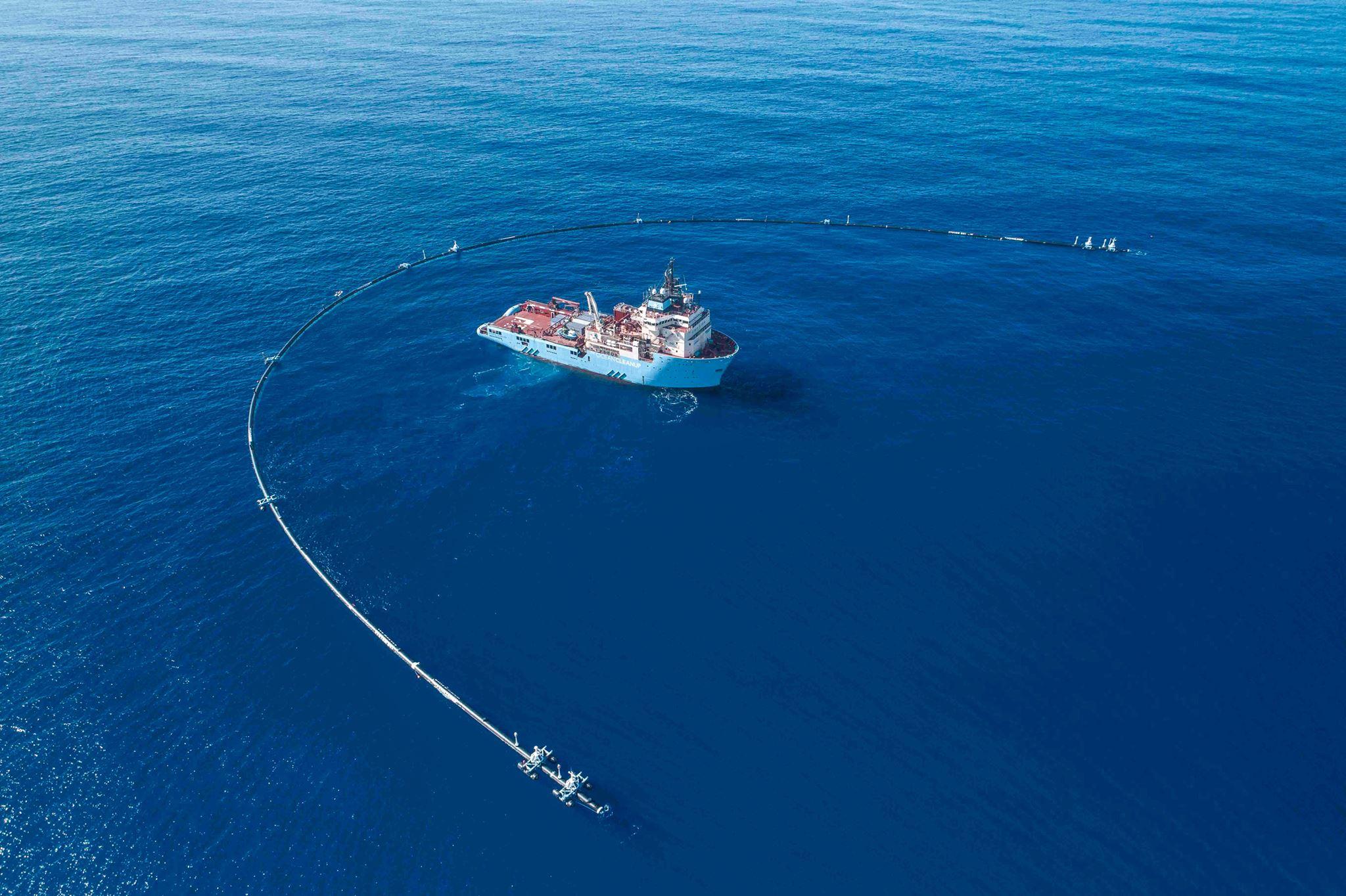 Se inició la travesía del Ocean Cleanup